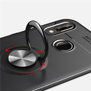 For Huawei P20 Pro Case Car Holder Stand Magnetic Bracket Finger Ring TPU Phone Cases For Coque Huawei P20 Lite Funda Capa P20