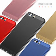 For Huawei P20 Pro Nova 3E Honor 8 9 Lite 6X 7X Mate10 Lite Plus P10 P8 P9 Lite Mini Breathable Heat Dissipation Matte Case