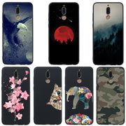 For Huawei Mate 10 Lite Phone Case JLNYU Luxury Matte Silicone Soft Shell Maimang 6 Nova 2i Black Fashion Cute Back Cover Cases