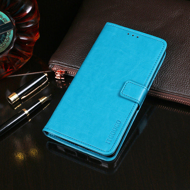 For Micromax Q415 Case Q465 Cover Leather Flip Case For