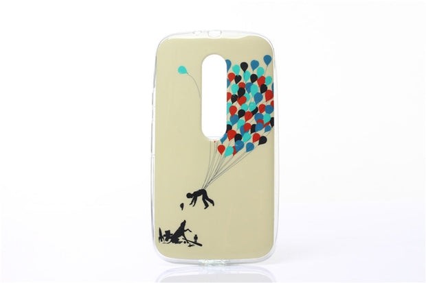 For Moto G 3 G3 Case Cartoon Painting Silicone TPU Soft Back Cover Case For Motorola Moto G3 XT1550 XT1540 XT1541 XT1542 XT154