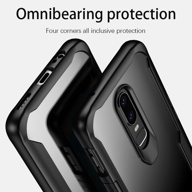 For Oneplus 6 Case Silicone Soft Cover For One Plus 5T Coque Transparent Back Cover For OnePlus 5 Six A6000 Protective Case