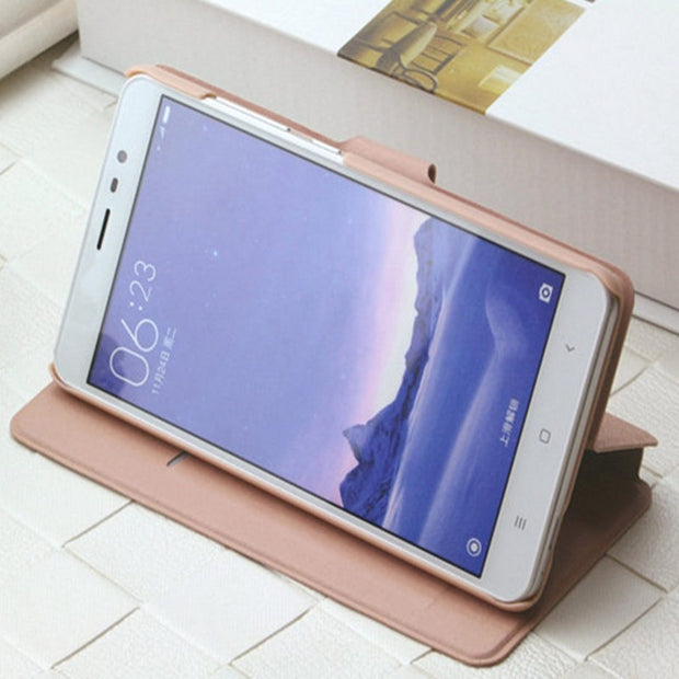 For Samsung Galaxy A3 A5 A7 2017 Flip Stand Mobile Phone Cover Case For Galaxy S8 S7 S6 Note 8 5 4 G530 Fashion PU Silk Leather