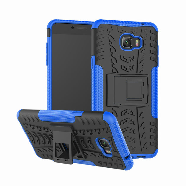 online store 2fcb0 bb3fc For Samsung Galaxy C7 Pro Case C7010 Silicone Rubber Back Cover Armor Full  Protector Hard PC+TPU Cases For Galaxy C7 Pro Bags