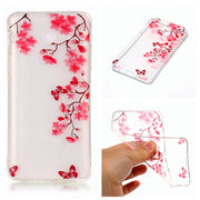 "For Samsung Galaxy J7 2017 J7108 5.5"" Silicone Case Transparent Animal Anime TPU Skin Back Cover Case For Samsung Galaxy J7 2017"