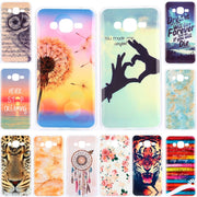 For Samsung J 2 Prime 2016 Silicone Case Cute Cartoon Soft TPU Gel Back Cover Case For Samsung Galaxy J2 Prime G532M Phone Bags