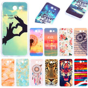 For Samsung J5 2017 J530 Silicone Case Cute Animal Flower Soft TPU Skin Back Cover Phone Case For Samsung Galaxy J5 2017 J530F