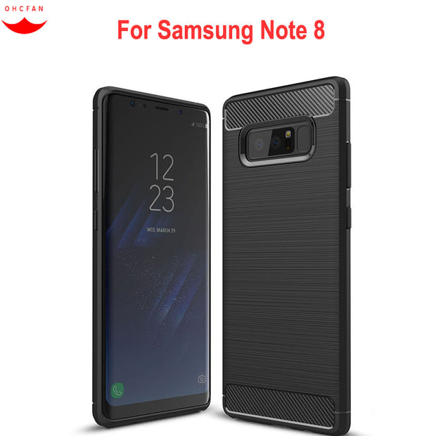 For Samsung Galaxy Note 8 Case Luxury Silicone Soft TPU For Samsung Note8 Cases Cover For Samsung Note 8 Phone Accessories 6.32""