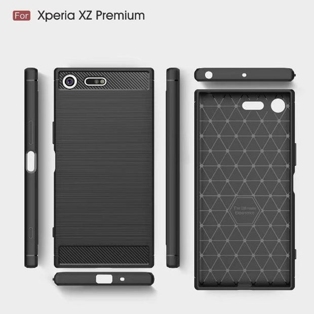 For Sony Xperia XZ Premium Case Soft TPU Silicone Case For Sony XZ Premium XZP Shockproof Armor Back Cover For Sony XZ Premium