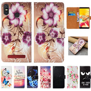 For Vernee T3 Pro Case High Quality Pu Leather 5.5 Flip Wallet Case Back Cover Book Case Bag