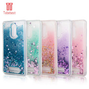 For Xiaomi MI 3 4 5 5S 5C 6 Redmi Note 3 3S 3X 4 4X 4A 4C 4I 5 5A Case Silicone Dynamic Glitter Liquid Quicksand Star Love Cover