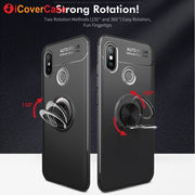 For Xiaomi Mi 8 Case Xiomi Mi 6 Ring Holder Soft Silicone Back Cover For Xiaomi Mi 8 / 8 Explorer / Mi6 Cases Stand Phone Coque