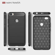 For Xiaomi Redmi Note 5A Case Silicone Phone Cases For Xiaomi Redmi Note 5A Pro Case Cover Soft TPU Luxury Carbon Fiber Bags