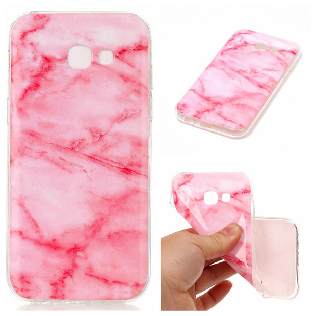 For Fundas Samsung Galaxy A3 2017 A320 A320F Abstract Painting Marble Case Women For Samsung A3 2017 Phone Cover Capinha Etui