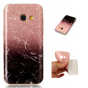 For Fundas Samsung Galaxy A3 2017 A320 A320F Soft Marble Case White Red Stone Phone Girl Cover For Samsung A3 2017 Capinha Etui