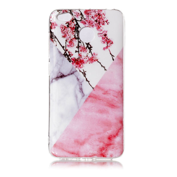 For Fundas Xiaomi Redmi 4X Case Soft Silicone Marble Mandala Floral Cover For Redmi 4X Quality Mobie Phone Case Capinhas Etuis