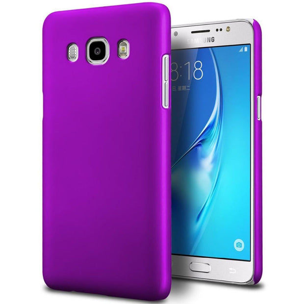 Full Protection For Samsung Galaxy J5 2016 Case Cover Protective Glass + Ultra Thin Hard Matte Case For Samsung J5 2016 J510FN