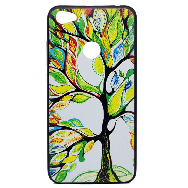 Colorful tree case