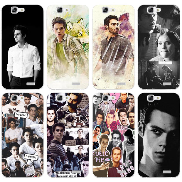 G542 Lydia Teen Wolf Transparent Hard Thin Skin Case Cover For Huawei P8 P9  P10 Lite Plus 2017 Honor 8 Lite 9 6X