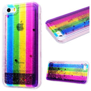GrandEver Soft Case For IPhone 5 5s SE Case Rainbow Transparent Silicone Protective Fundas For IPhone 5s Cover Colorful Bumper