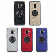 HOTR 360 Rotatable Ring With Magnetic Adsorption Hard Back Case For Smasung Galaxy S6/S6 Plus/S8/S8 Plus For Samsung J4/J6/J8