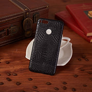 HUDOSSEN For Xiaomi Mi A1 Case Luxury Crocodile Pattern Leather Hard Back Cover Fundas For Xiaomi Mi A1 Protective Phone Case