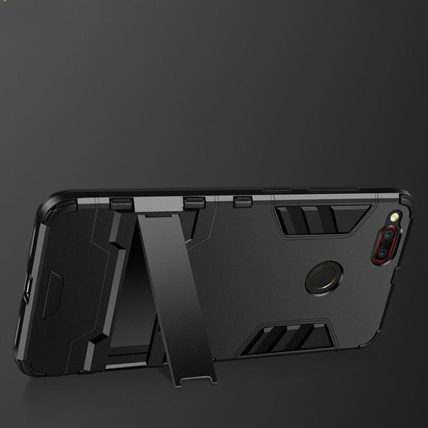 Hard PC+TPU Shockproof Phone Case For Nubia Z17 Z17s Z17mini Z17 Mini S Back Protective Shell Couqe Rubber Silicon Edge Holder