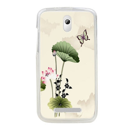 High Quality Colored Drawing Hard Case Cover For HTC Desire 500