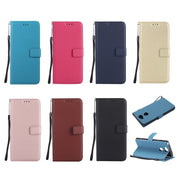 High Quality PU Leather Wallet Case Magnetic Clasp Kickstand Phone Cover For Nokia 630 640 3 5 6 8 9 With Card Holder