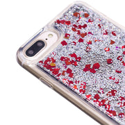 Hot Sale Soft Phone Case For 6plus/7 Plus/8 Plus Glitter Liquid Quicksand Mirror Back Protective Case Dropshipping Wholesale 20p