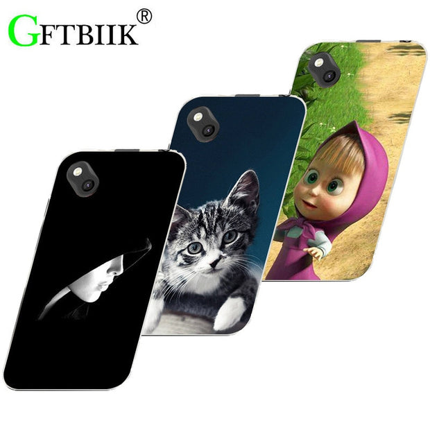 "Hot Ultra Thin Back Cover For Wiko Sunny 2 Plus Sunny2 Plus 5.0"" Soft Silicone Phone Case Horse Cat Fruits Soft Silicone Cases"