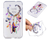 Huawei Y3 2017 Silicone Cover Transparent Anime Animal Silicon TPU Soft Back Cover Case For Huawei Y3 2017 Y3III CRO-L02 CRO-L22