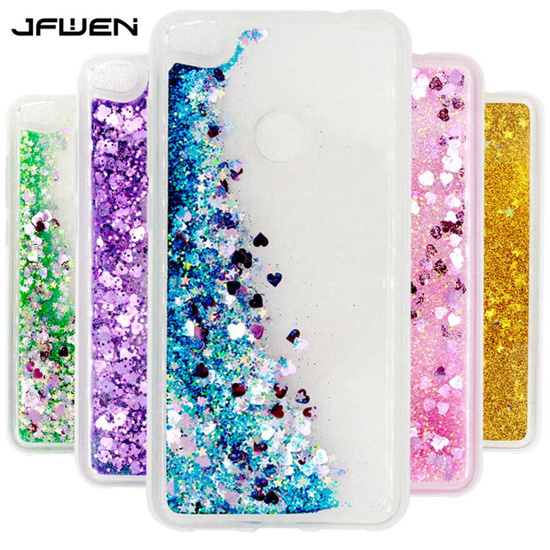 JFWEN For Fundas Huawei P8 Lite 2017 Case Silicon Soft TPU Phone Case For Coque Huawei P8 Lite 2017 Case Liquid Dynamic Cover