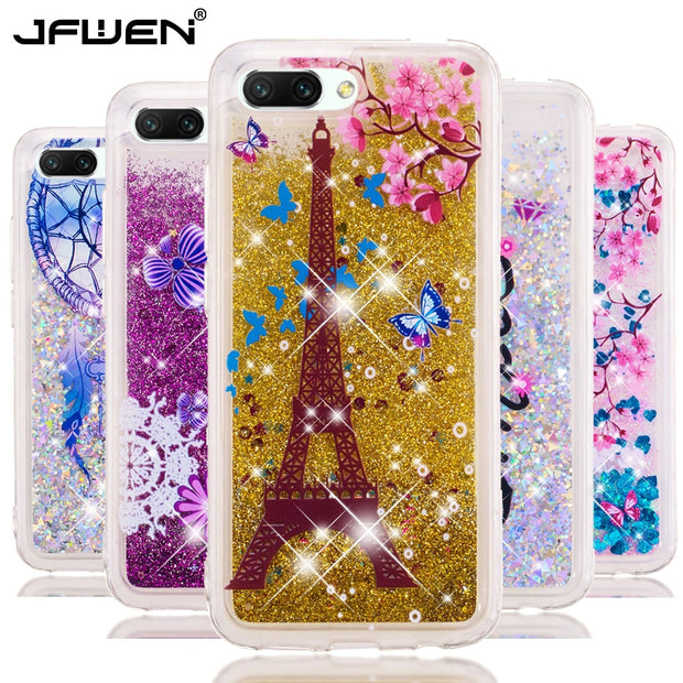JFWEN Honor 10 Case On For Huawei Honor 10 Case SFor Fundas Huawei Honor 10 Cover Soft Silicone Liquid Dynamic Phone Case Coque