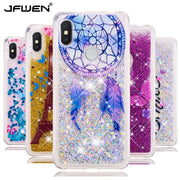 JFWEN Liquid Case On For Fundas Xiaomi Redmi S2 Case SFor Coque Xiaomi Redmi S2 S 2 Cover Glitter Dynamic Soft TPU Phone Cases