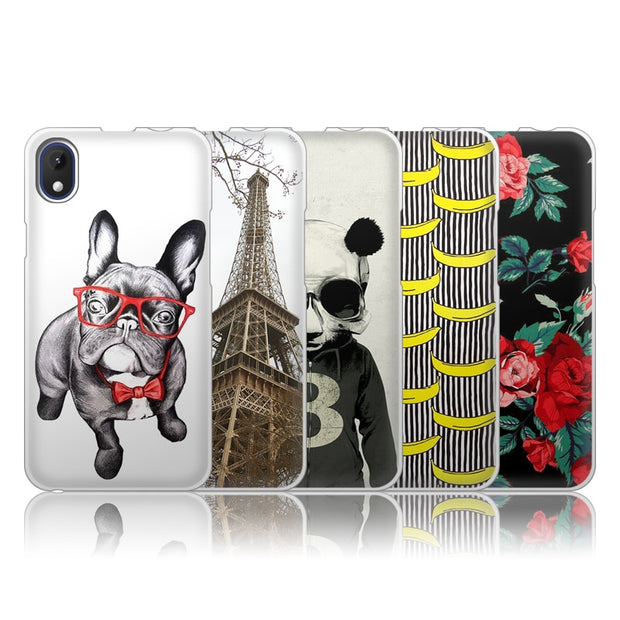 JURCHEN Case For Wiko Sunny Max Phone Case Silicone Soft TPU Back Cover For Wiko Sunny Max Case Cover Cartoon Cute Capa 4.0""