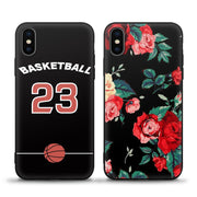 JURCHEN For Apple IPhone X Case Cover Silicone Soft Cute Cartoon 3D Relief Tpu Back Cover For IPhone X 10 Case Luxury Phone Bags