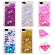 KDTONG Liquid Case For Coque Huawei Y5 2018 Case Glitter Liquid Soft Silicone TPU Cover For Huawei Y5 Prime 2018 Case Cover Capa