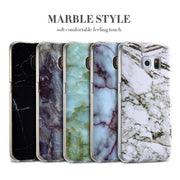 KISSCASE Marble Case For Samsung Galaxy S8 Note 8 Cases For Samsung A5 2017 J3 J5 2016 S6 S7 Soft TPU Mobile Phone Cover Coques