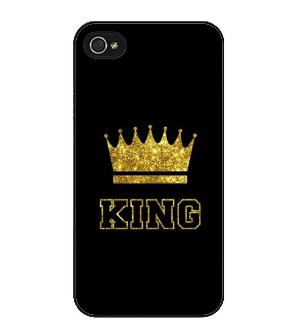 King Queen Coque Hard Case Cover For Samsung Galaxy S4 S5 S6 Edge S7 Edge Note 2 3 4 5