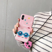 Korea Super Cute Cartoon Honey NEO Apeach Ryan Soft Silicon Phone Case Cover For Iphone X XS XS Macax 6 6S 7 8 Plus Hang Rope