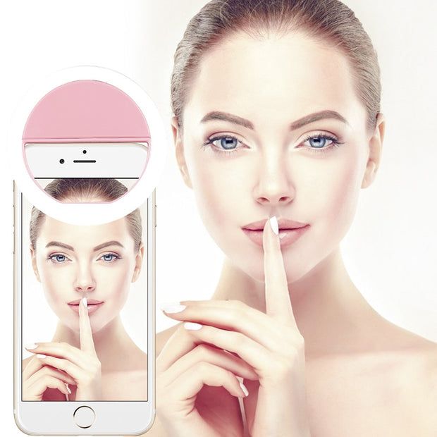 LED Light Flash UP Makeup Selfie Cover Case FOR Archos 62 Xenon / 50b Platinum / 50 Neon / 50 Oxygen Plus 50b Oxygen 50 Platinum