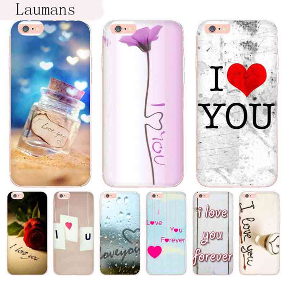 coque iphone 8 love you