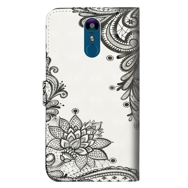 Leather Phone Case For LG Aristo 2 Plus V40 ThinQ Q Stylo 4