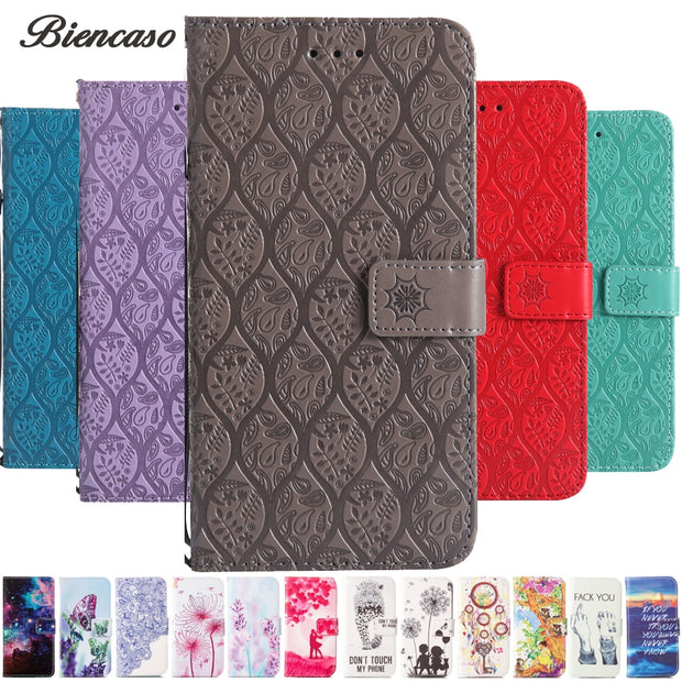 Leather Wallet Phone Case For Samsung Galaxy J1 2016 J3 Prime J5 Pro 2017 J7 /2017 Flip Cover Card Slot Stand Magnetic Bag B132