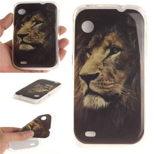 Lenovo A580 A 580 Case Cute Animal Anime Silicone TPU Skin Back Cover Case For Lenovo S686 S850e S680 A580 Phone Shell Cover