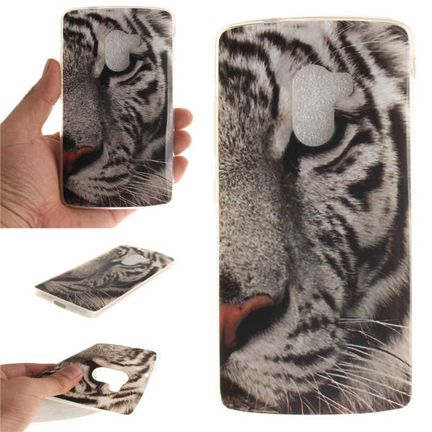 "Lenovo A7010 K4 Note Vibe X3 Lite 5.5"" Case Cute Animal Anime Silicon TPU Skin Back Cover Phone Case For Lenovo K4 Note A7010"
