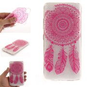 "Lenovo S90 S 90 S90a S90-a 5.0"" Case Transparent Animal Flower Soft Silicon TPU Skin Back Cover Phone Case For Lenovo S90 S90-A"