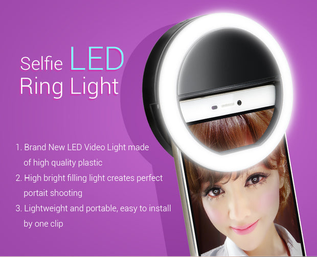 Light Flash UP Makeup Selfie Case FOR ZTE Blade L5 Plus / S7 For ZTE Blade V7 Lite For ZTE Nubia Z11 Max N1 For ZTE Axon 7 Mini