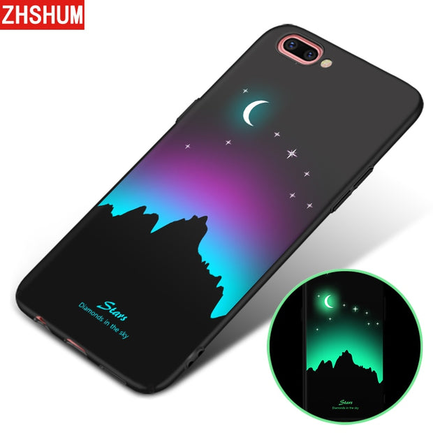 Luminous 3D Case For Iphone X 8 7 Plus 6s 6 Hard Plastic Pattern Phone Case Glow Back Cover For Apple Iphone X 8 7 6 Plus S Case